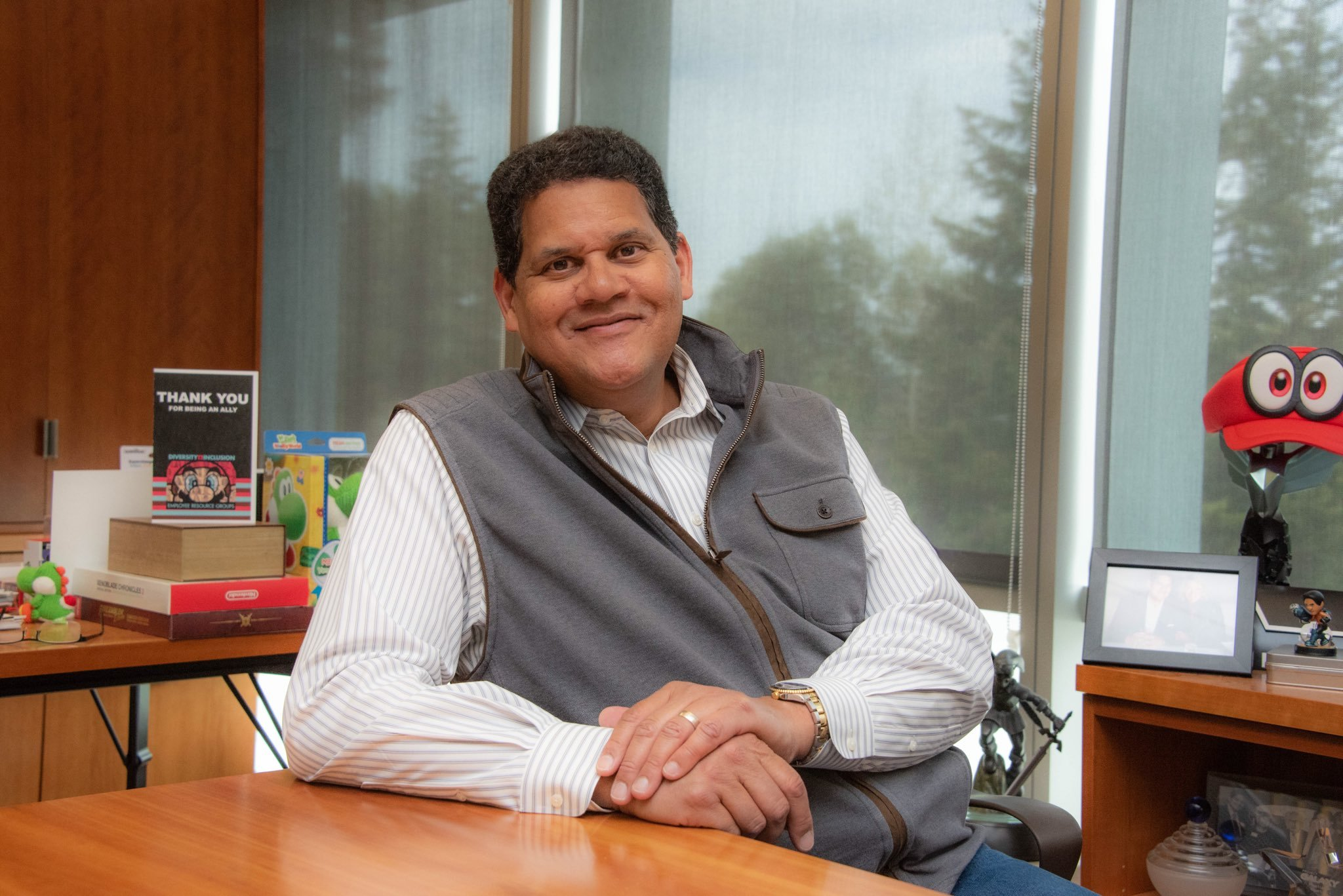 Reggie Fils-Aime joins GameStop Board of Directors