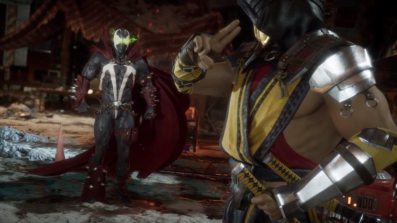 Spawn gameplay trailer release date Mortal Kombat 11