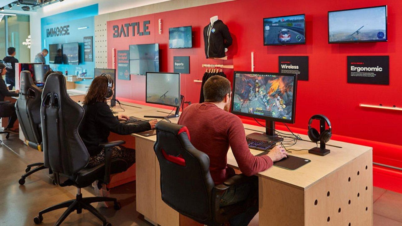 Target Game Room Vr hands on stations