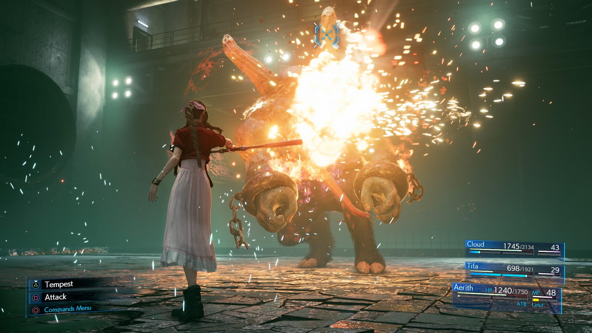 How to adjust the difficulty in the Final Fantasy 7 Remake