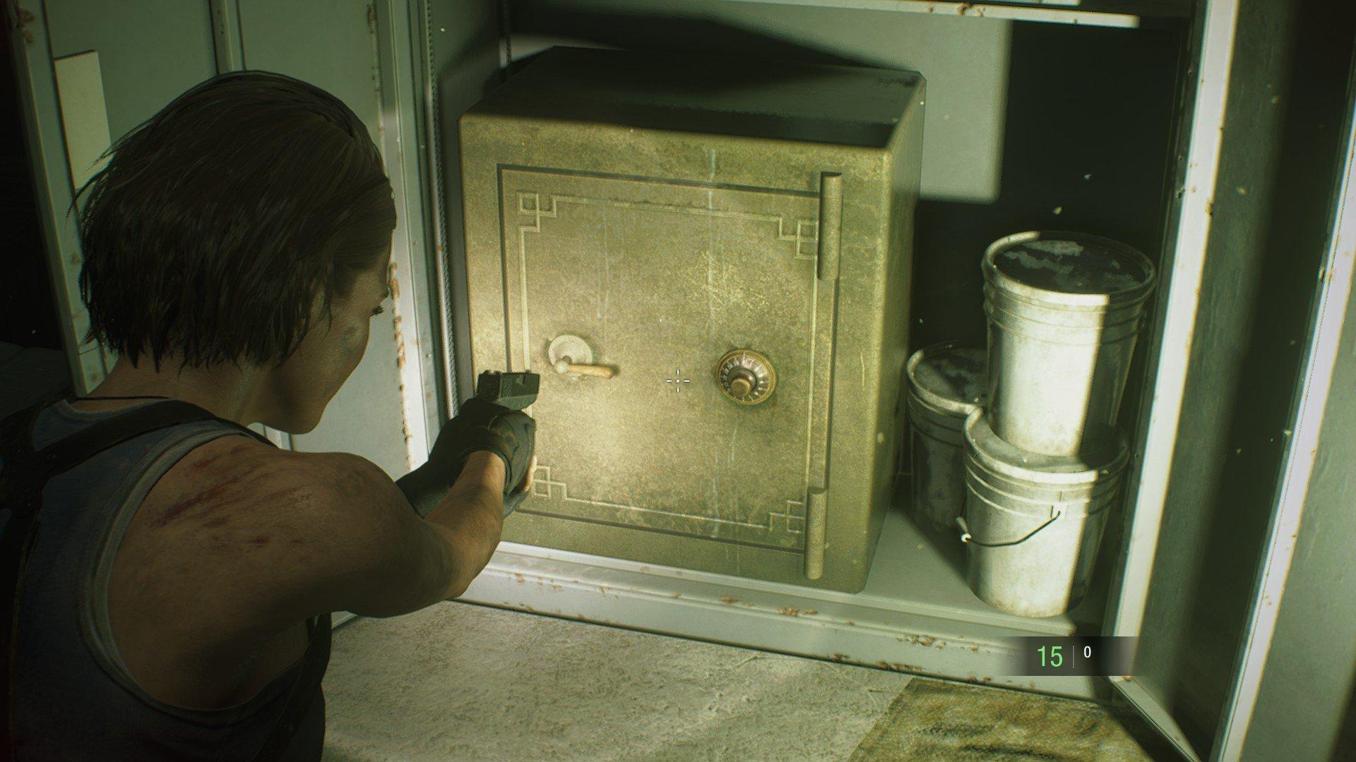 All safe codes resident evil 3