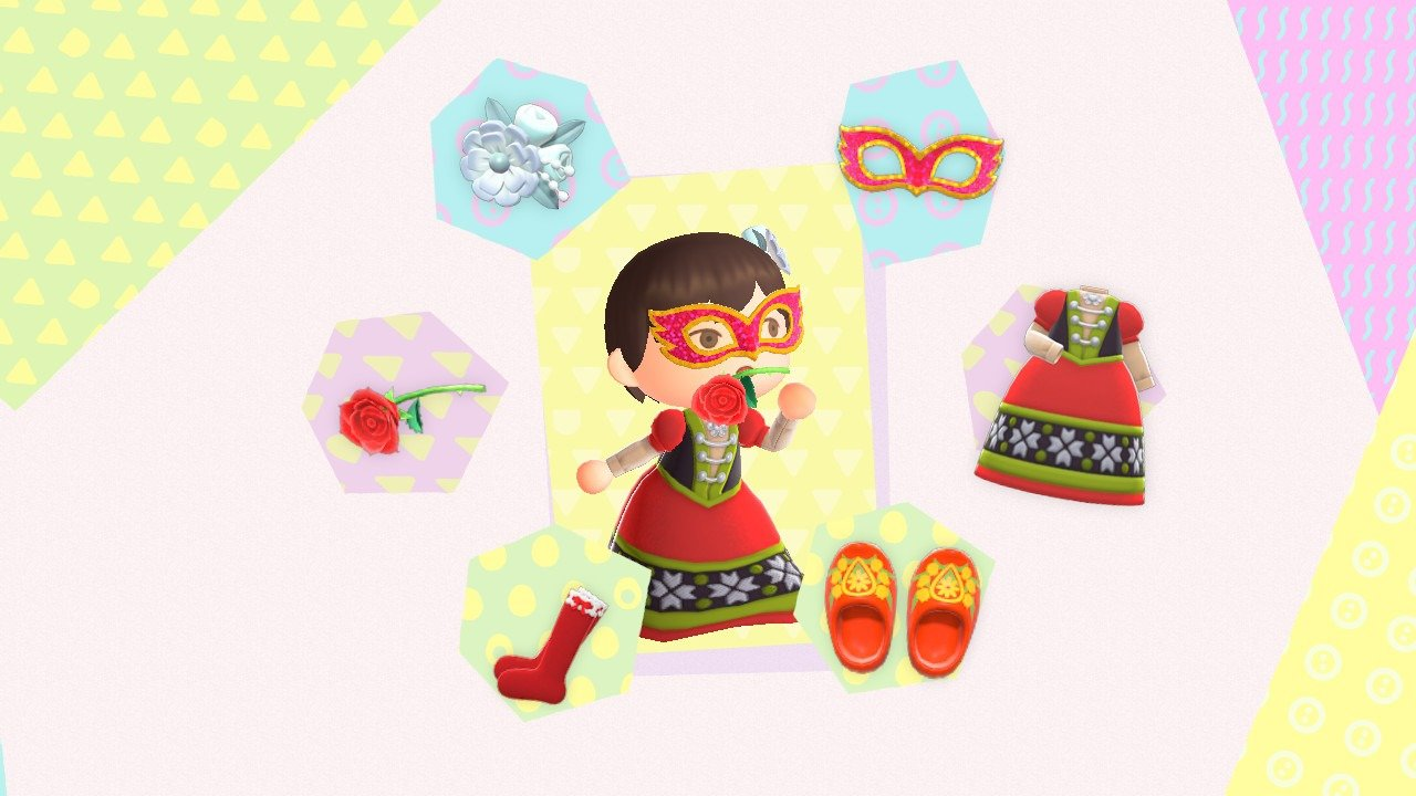 Animal Crossing: New Horizons Fairy Tale outfit