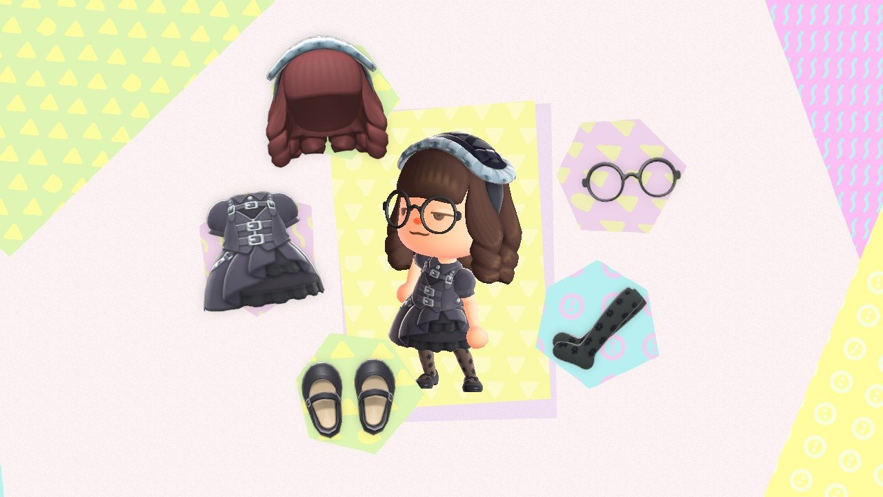 Animal Crossing: New Horizons Gothic outfit