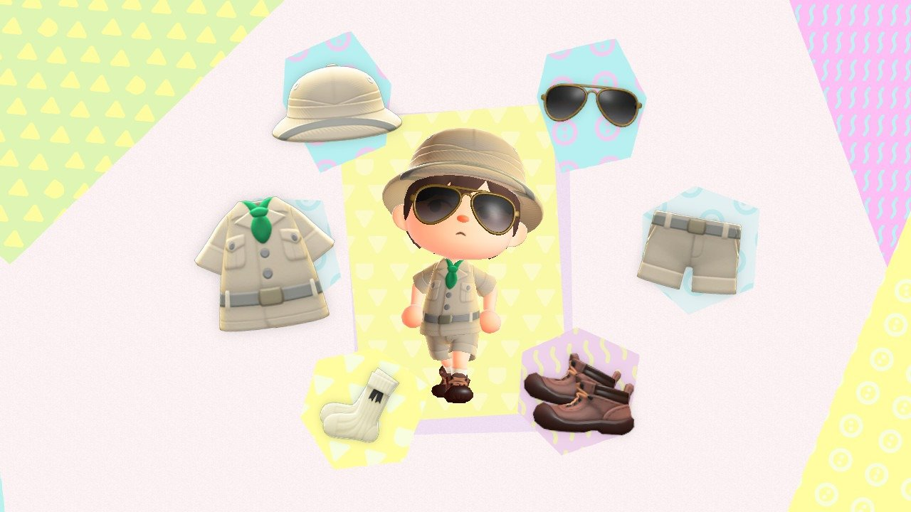 Animal Crossing: New Horizons Outdoorsy outfit