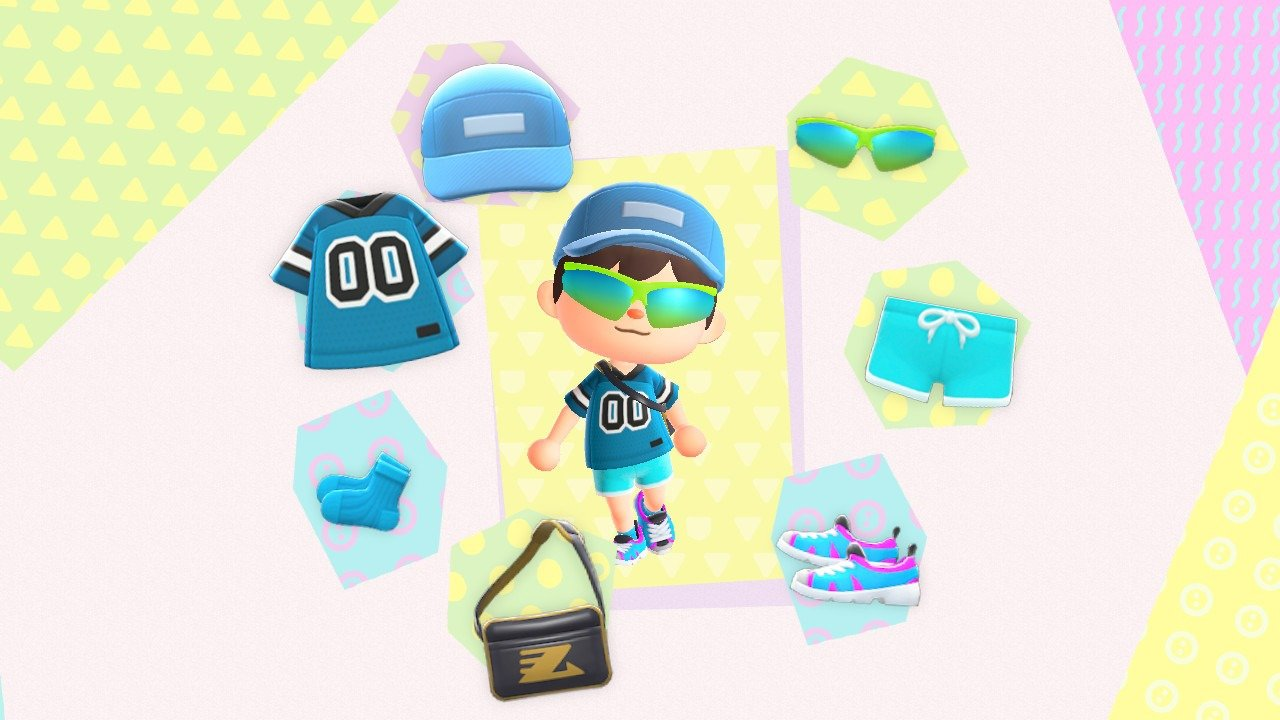 Animal Crossing: New Horizons Sporty outfit