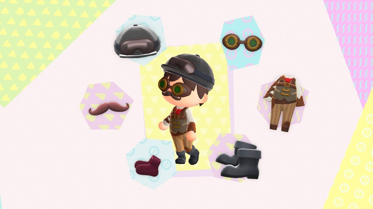 Animal Crossing: New Horizons Theatrical outfit