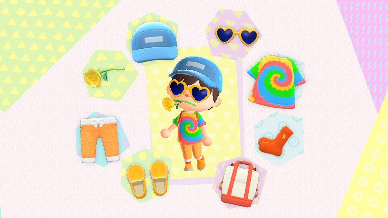 Animal Crossing: New Horizons Vacation outfit
