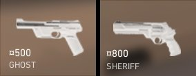 best sidearm valorant ghost sheriff