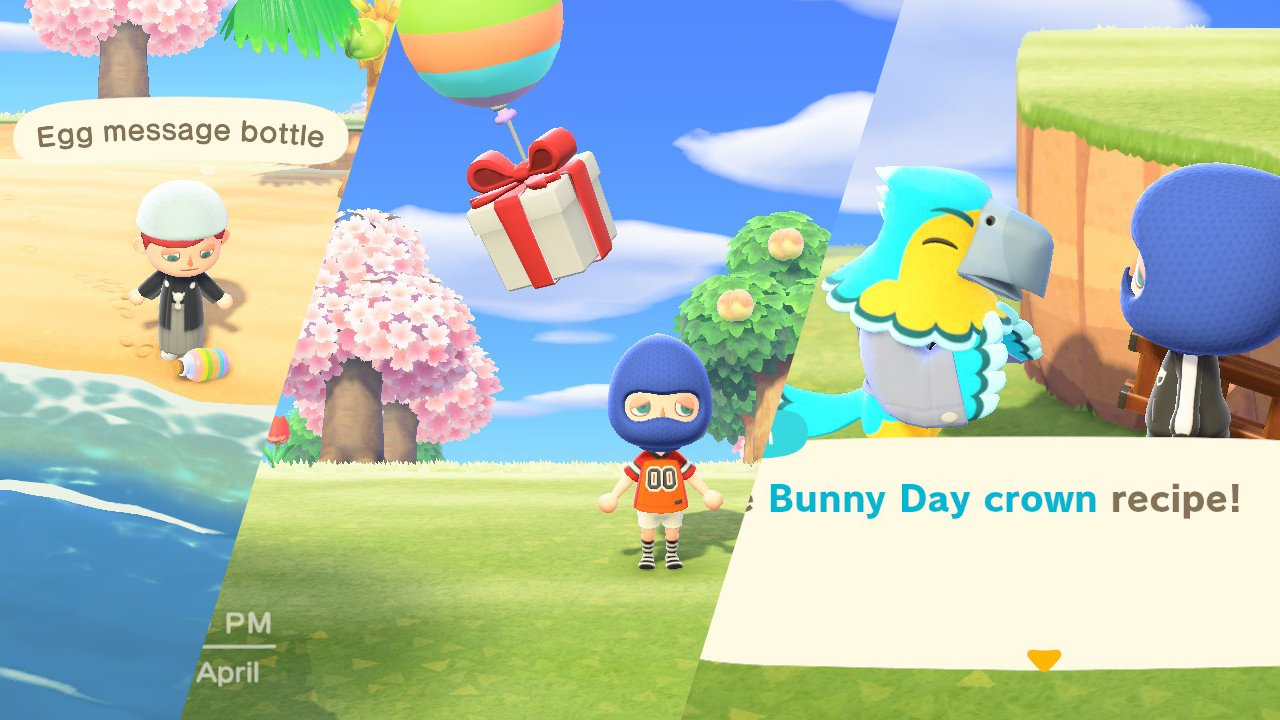 bunny day recipe locations animal crossing new horizons