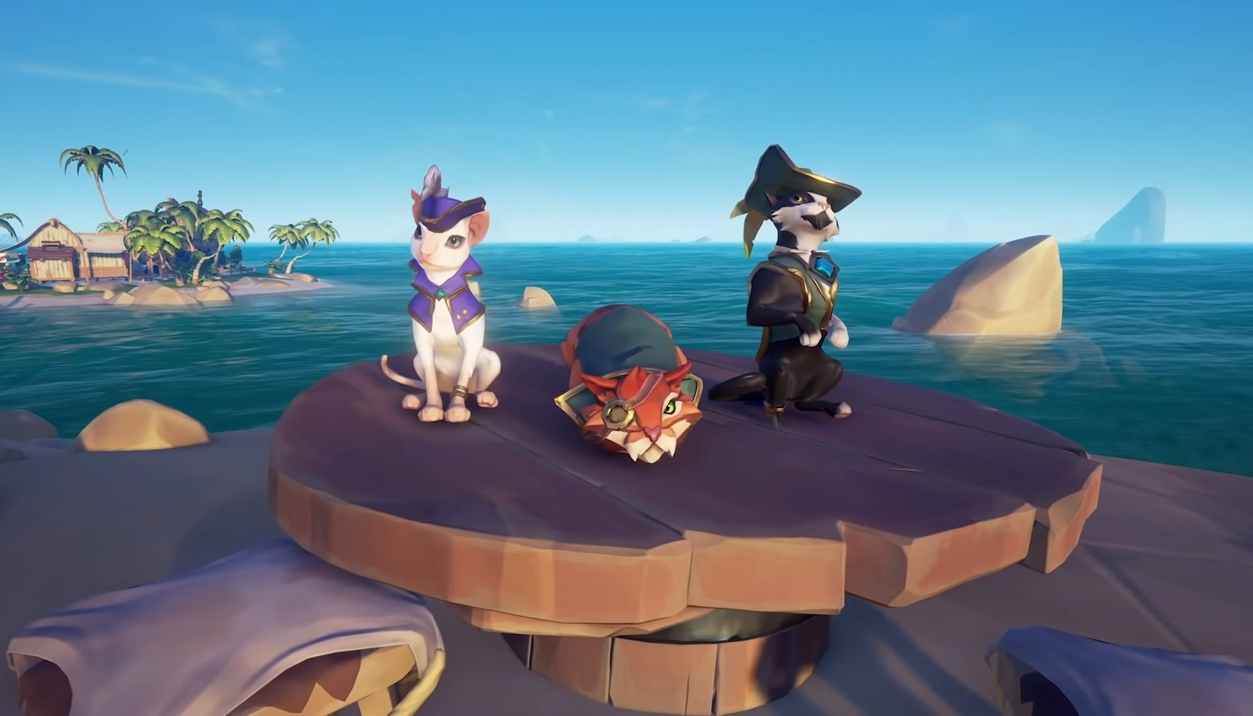 Sea of Thieves update adds adorable cat companions