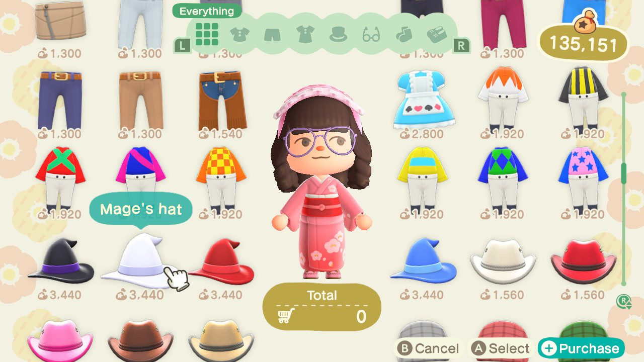 We also wish we could buy items and clothing in bulk in Animal Crossing: New Horizons.