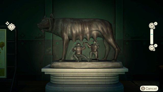 Fake art list motherly statue