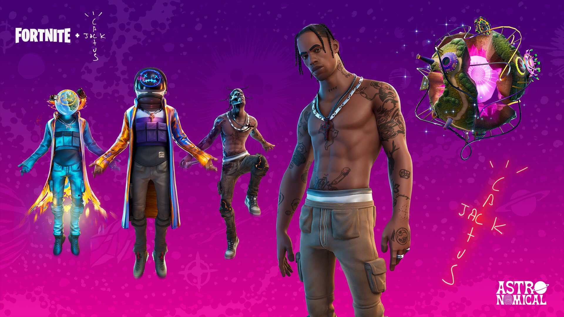 Travis Scott breaks Marshmello's viewer record in Fortnite