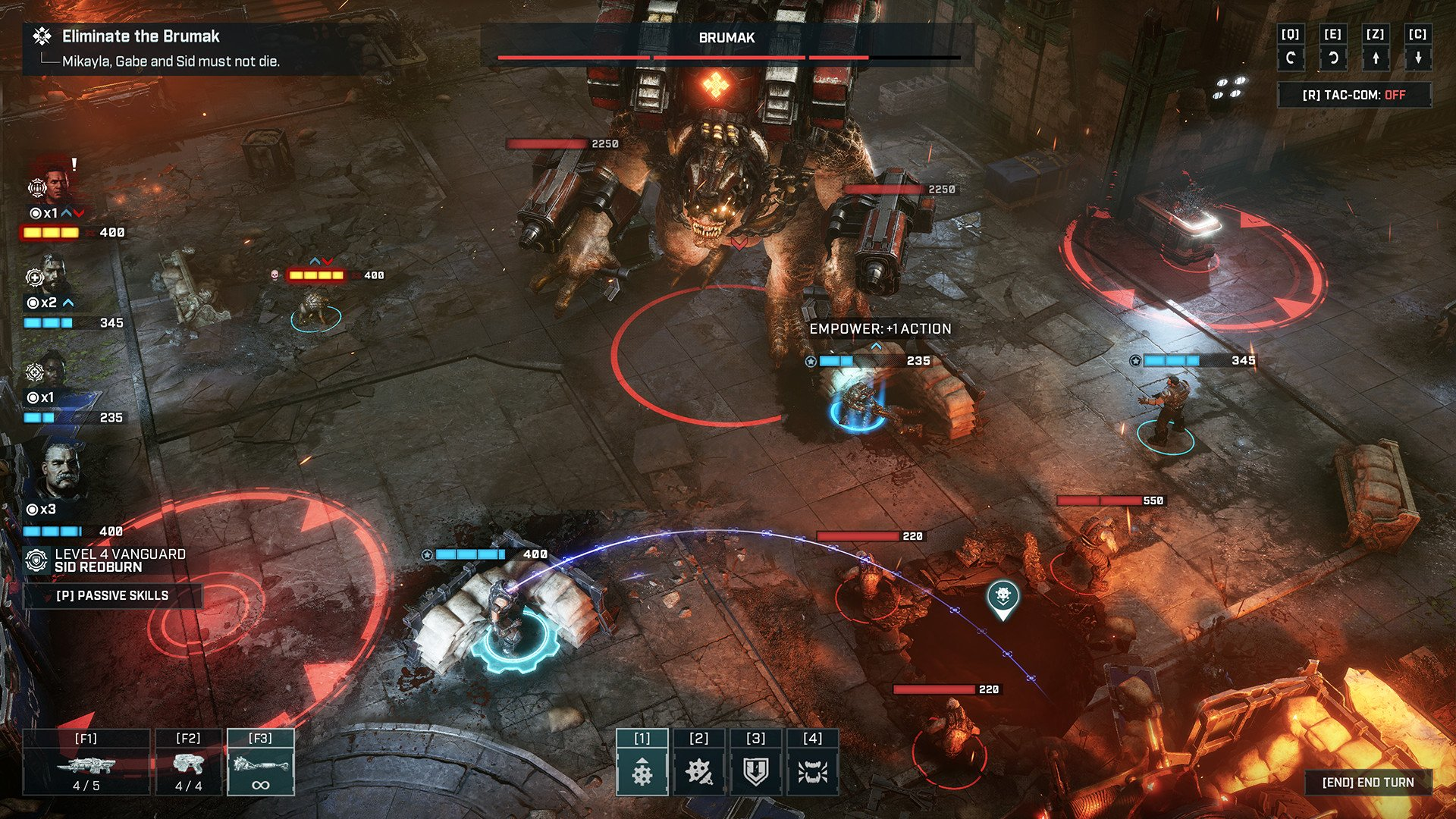 How to save in Gears Tactics