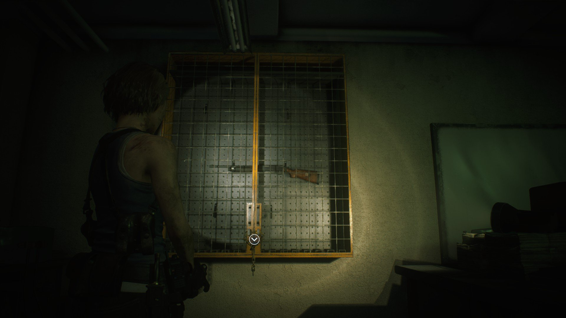 Get the shotgun resident evil 3