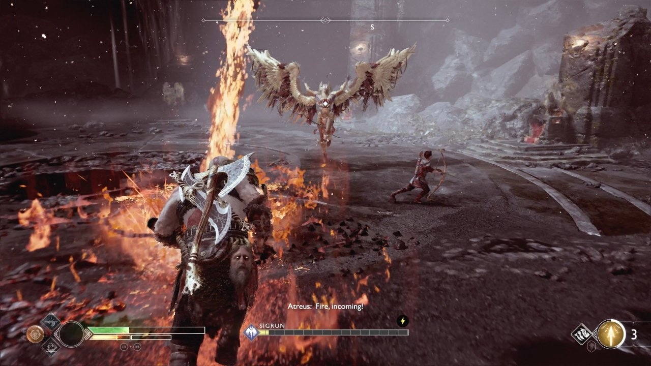God of war returning to platinum Chooser of the Slain
