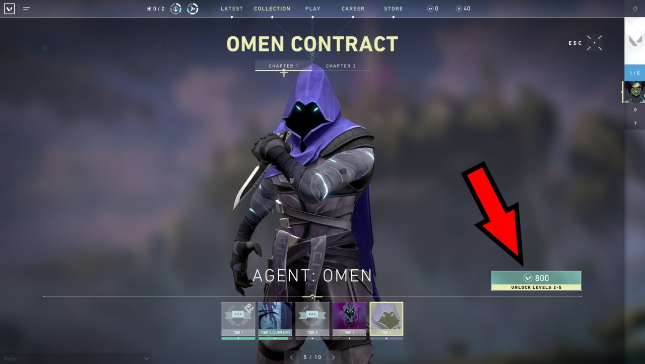 How to buy agents in Valorant