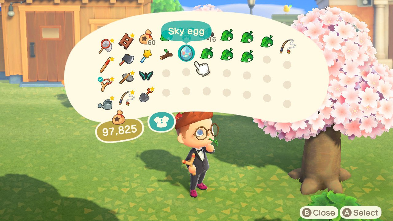 How to get sky eggs animal crossing new horizons