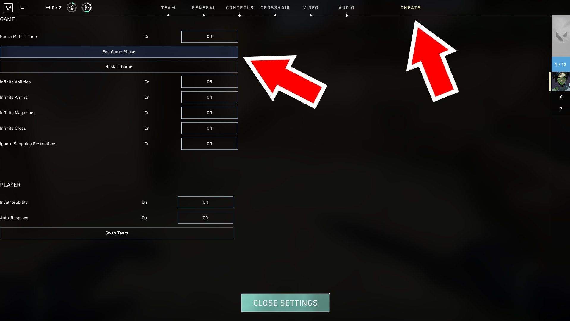 How to leave custom games in Valorant