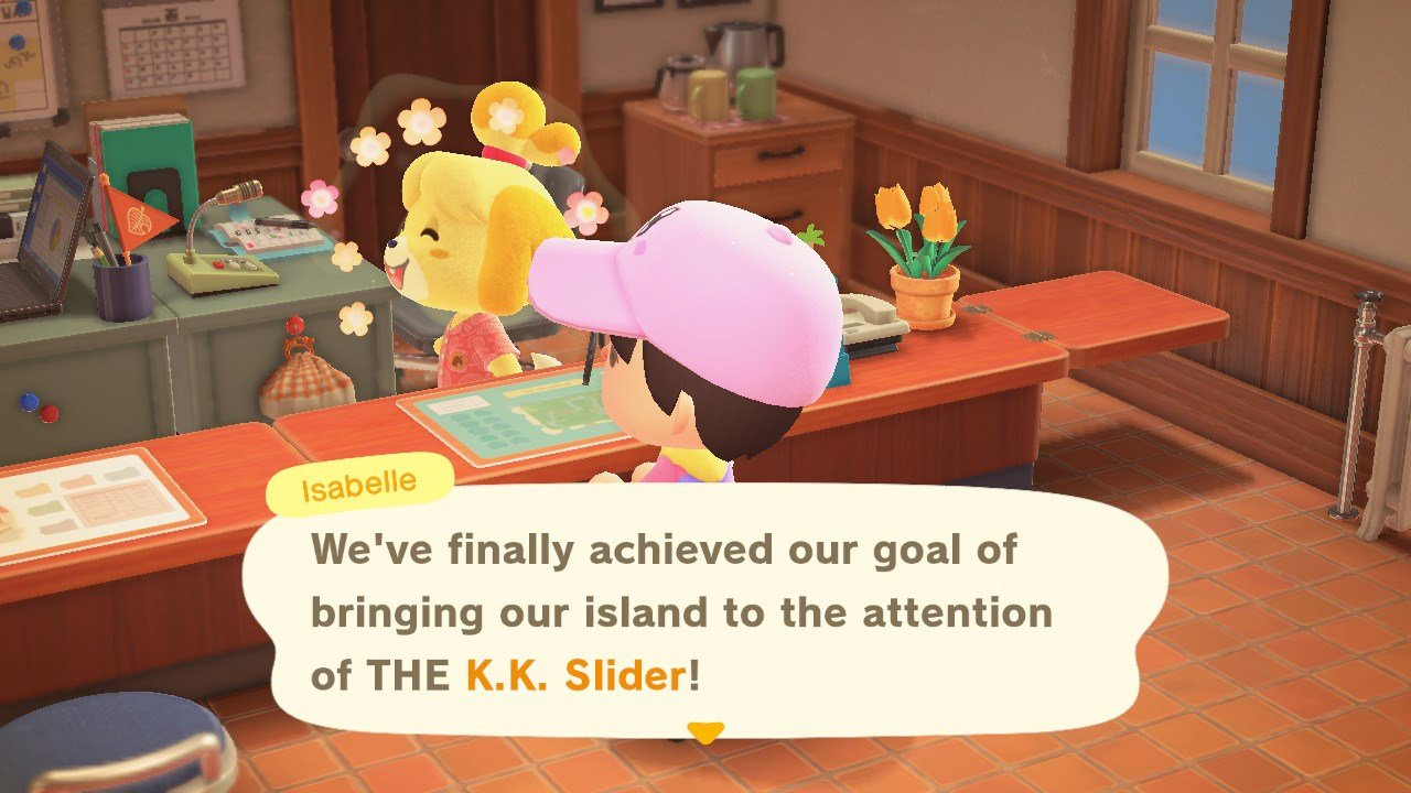 How to get K.K. Slider to perform in Animal Crossing: New Horizons