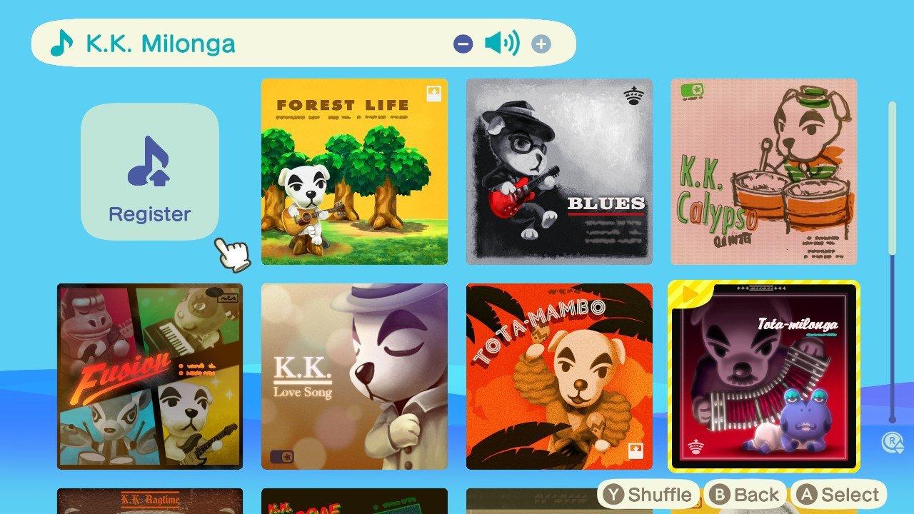 All K.K. Slider songs in Animal Crossing: New Horizons