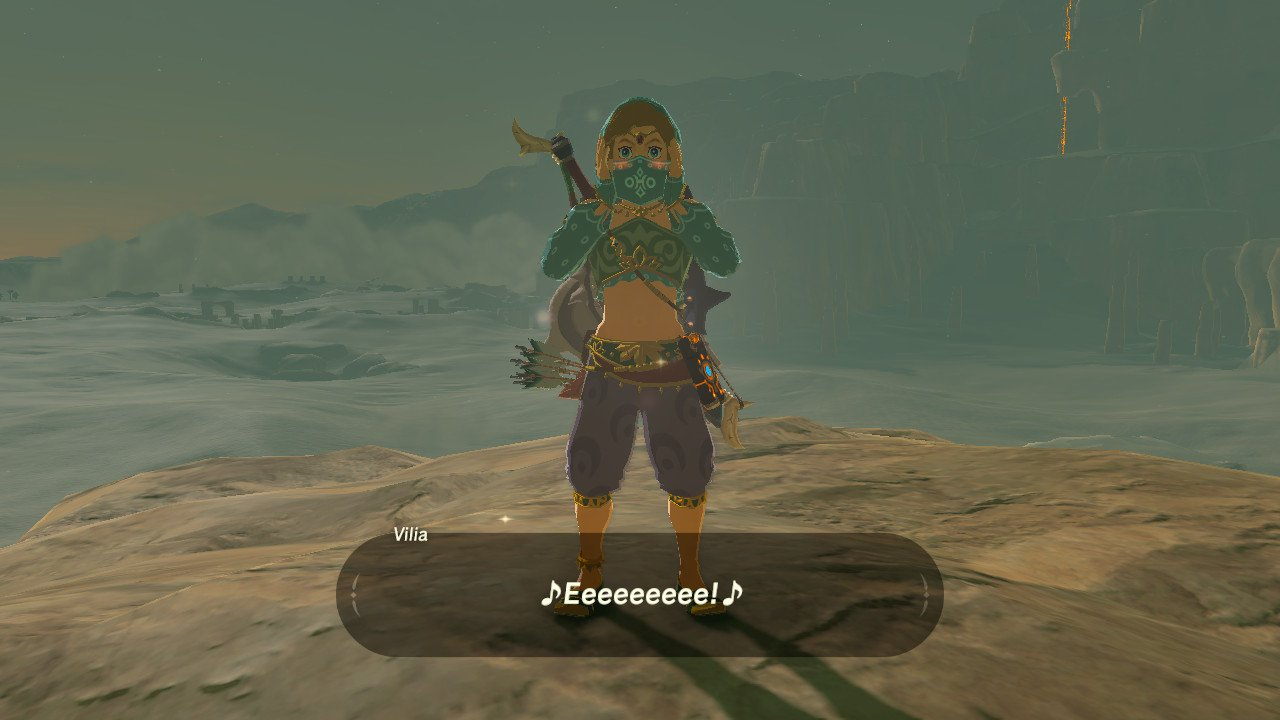 The Gerudo Veil worn by Link in The Legend of Zelda: Breath of the Wild is extremely cute, and easy to make!