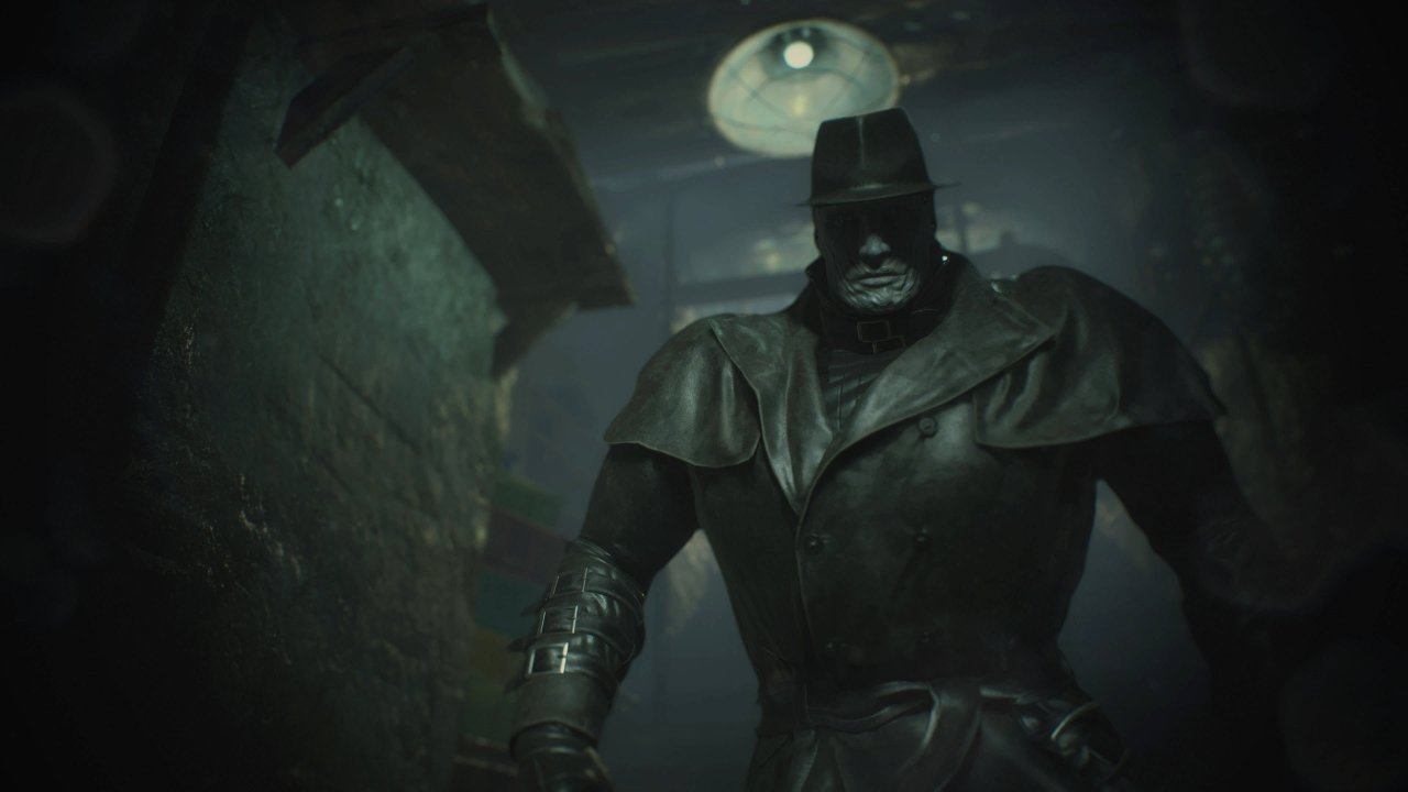 Resident Evil all tyrants Mr. X t-00