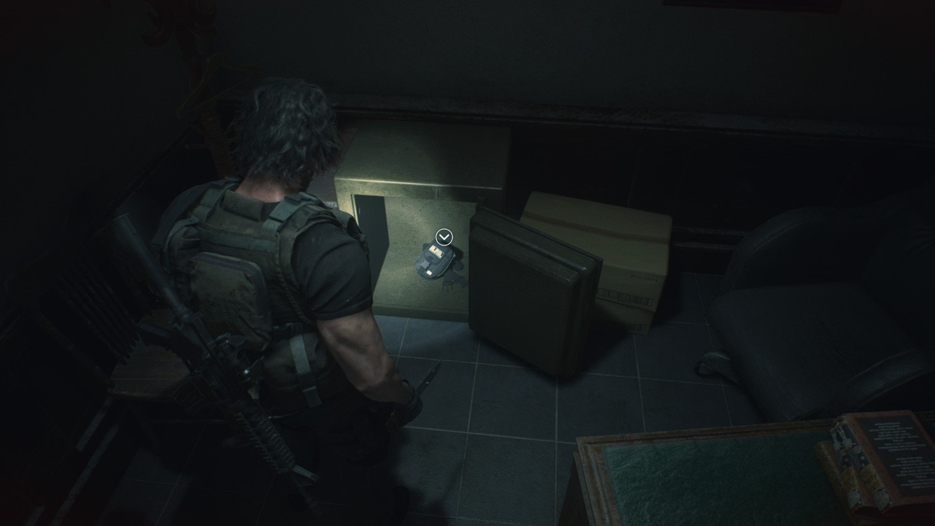 Resident Evil 3 safe code solutions
