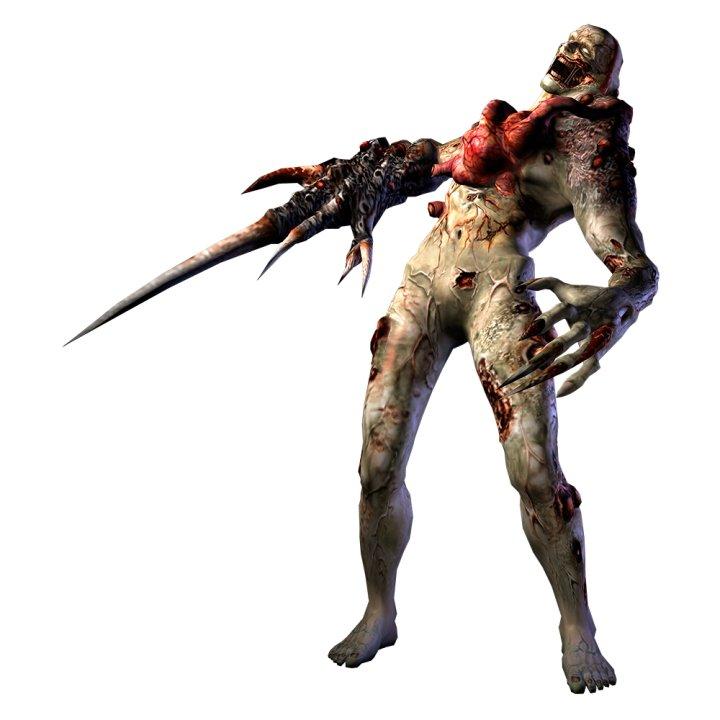 All Resident Evil Tyrants T-001 Proto Tyrant