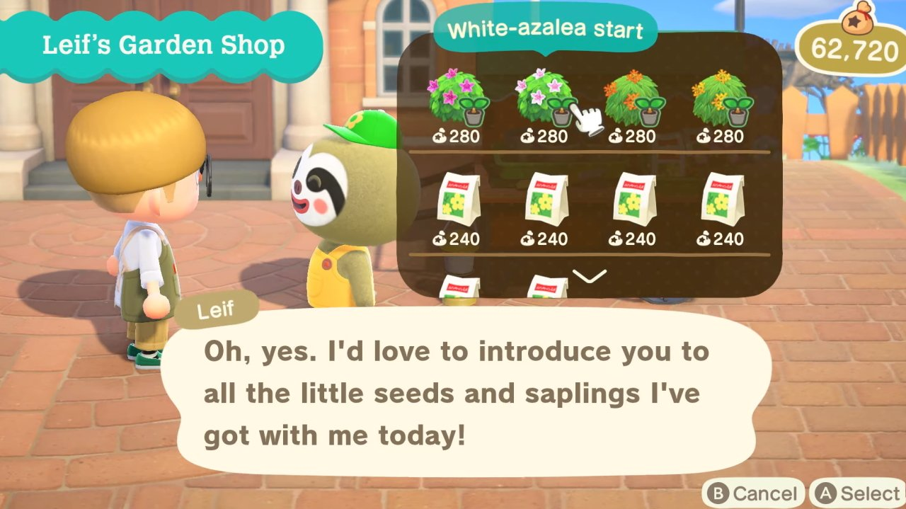Is Shrub breeding possible in Animal Crossing New Horizons