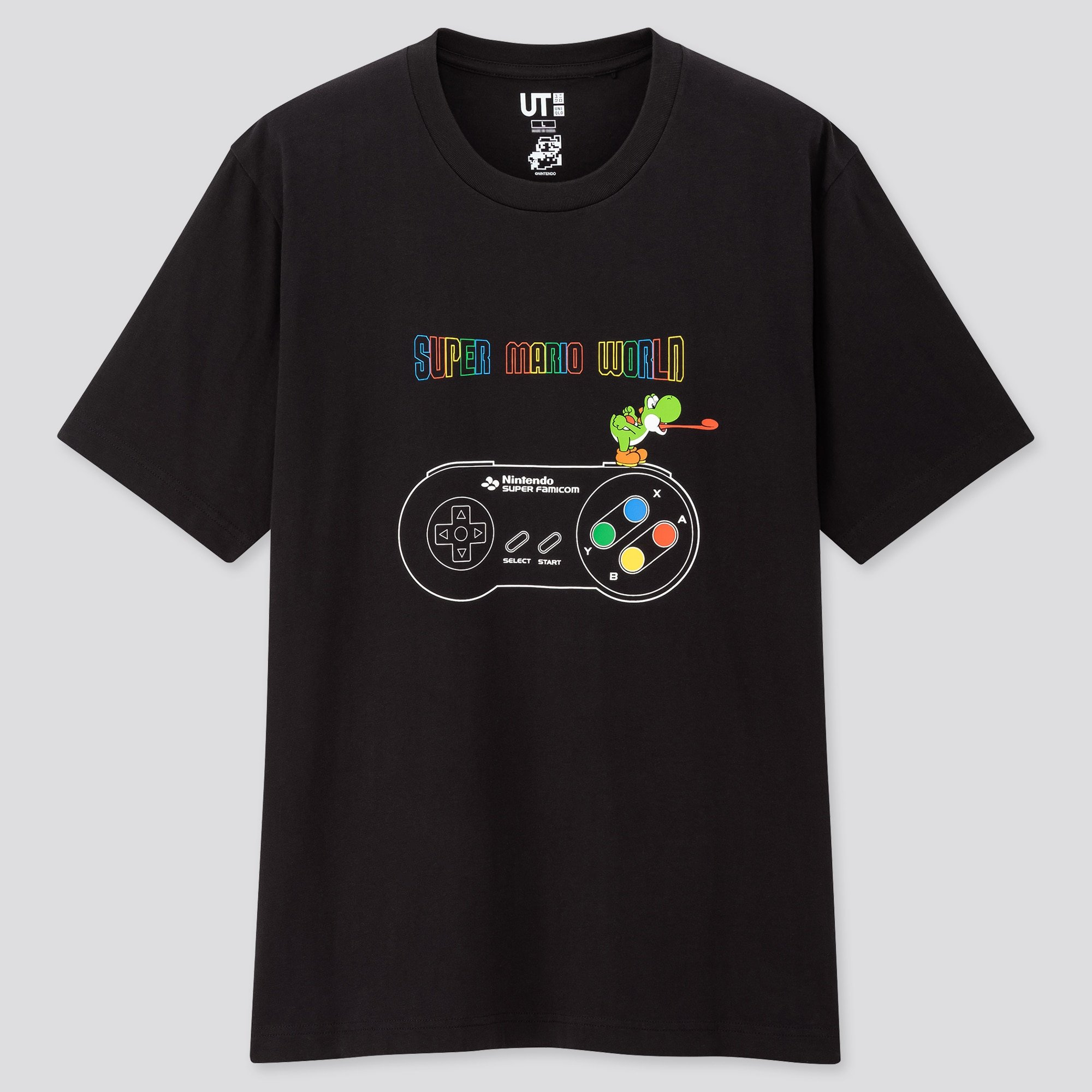 Uniqlo X Mario for the 35th anniversary of Nintendo's flagship game.