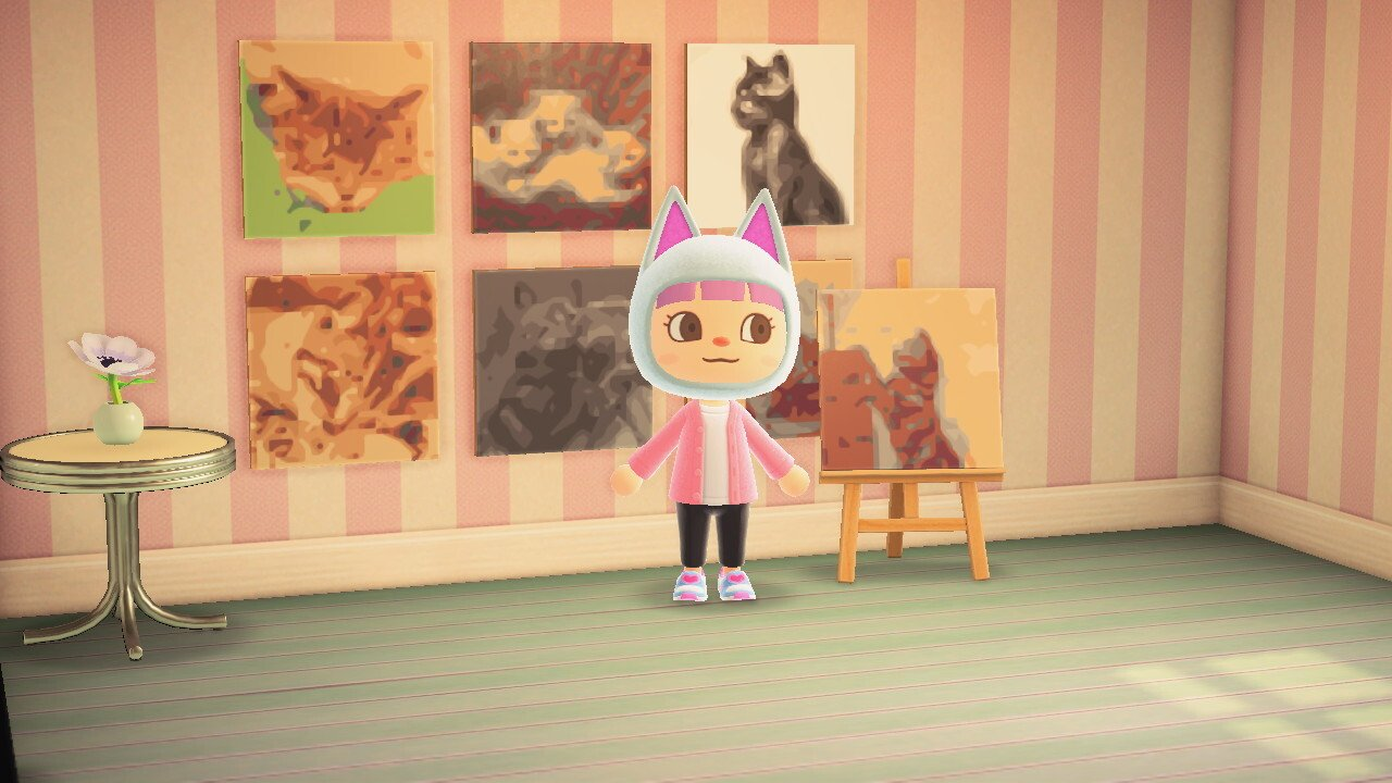 Getty Art Museum shares gallery in Animal Crossing: New Horizons