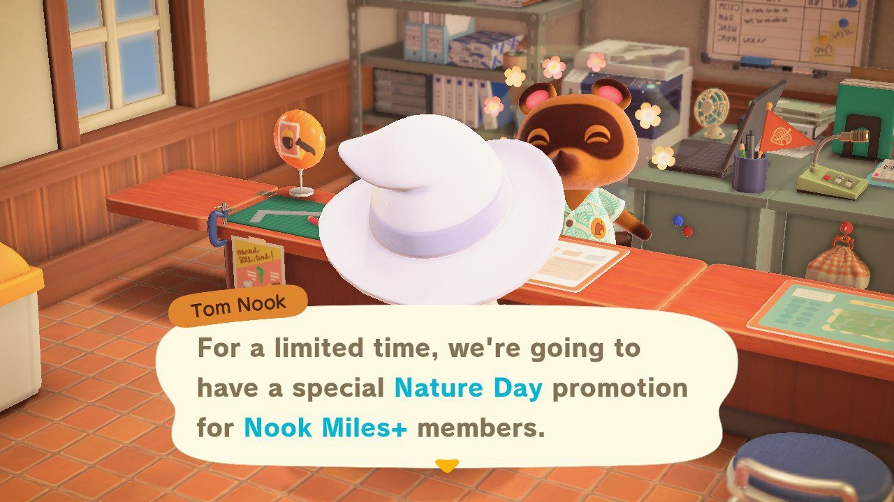 Get bonus Nook Miles during Nature Day event Animal Crossing: New Horizons