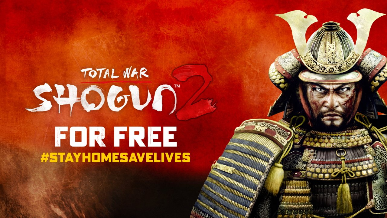 Total War Shogun 2 free on Steam