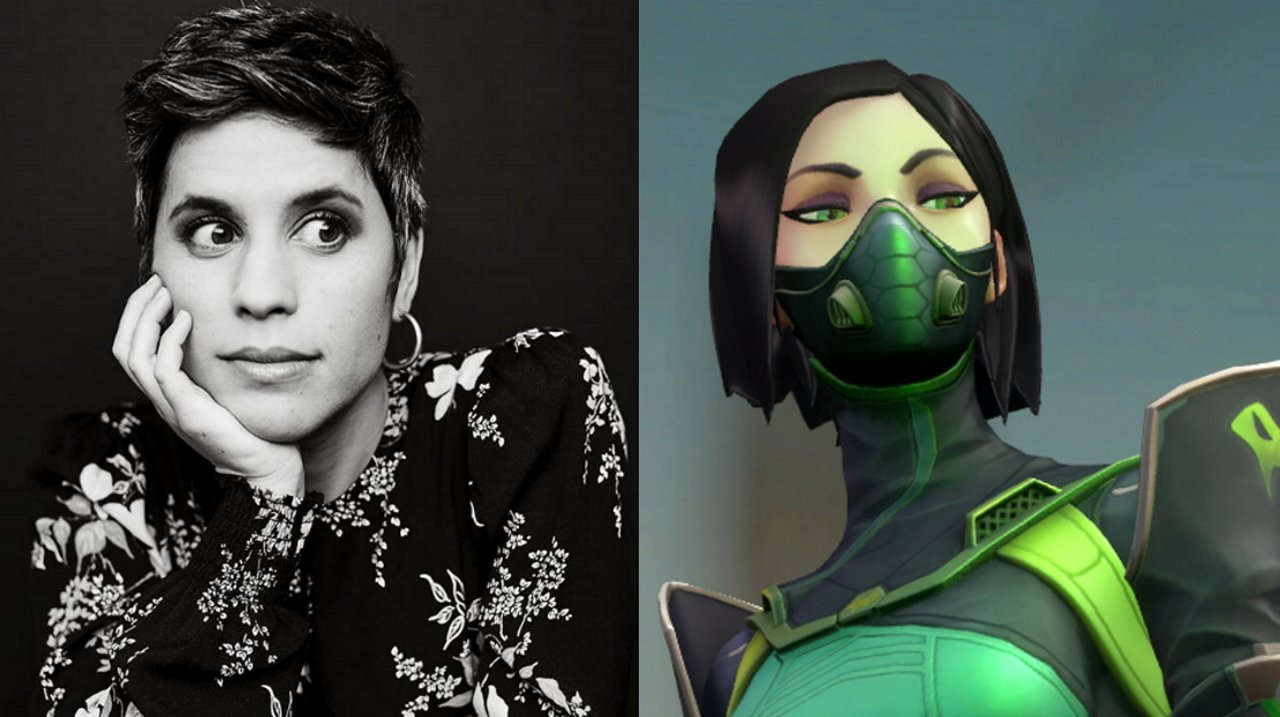 Ashly Burch voices Viper in Valorant