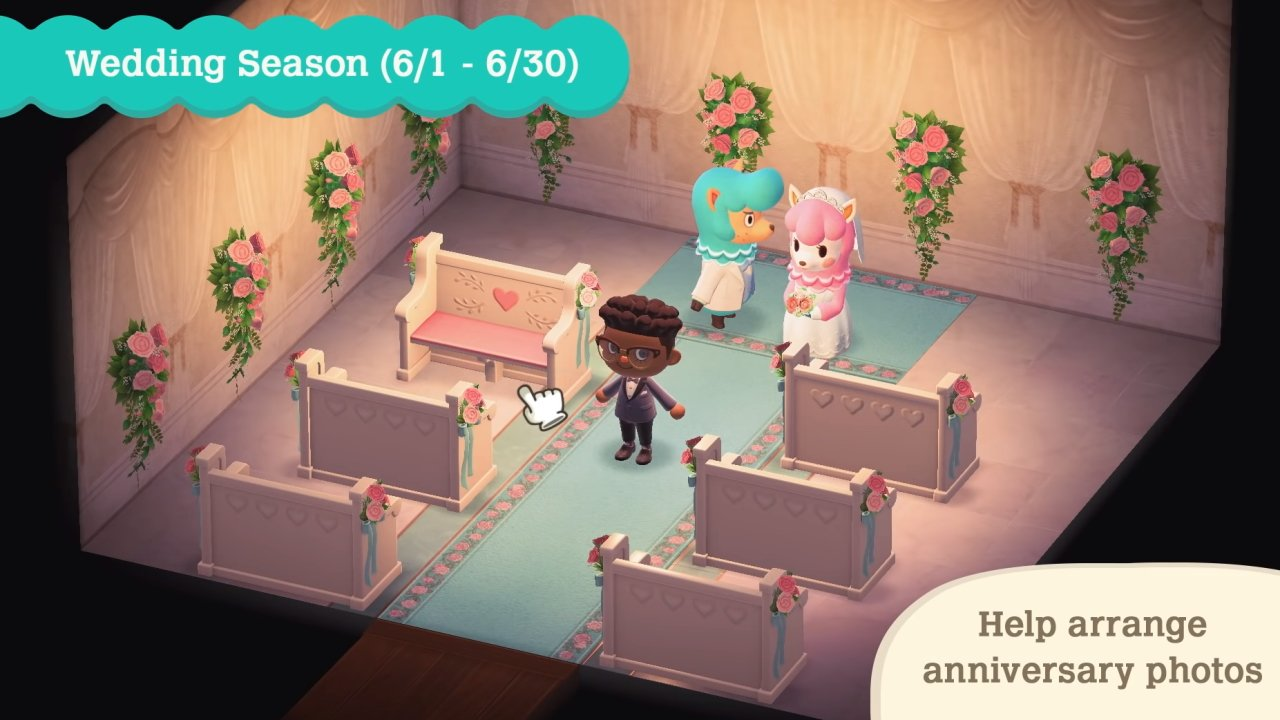Wedding season animal crossing new horizons