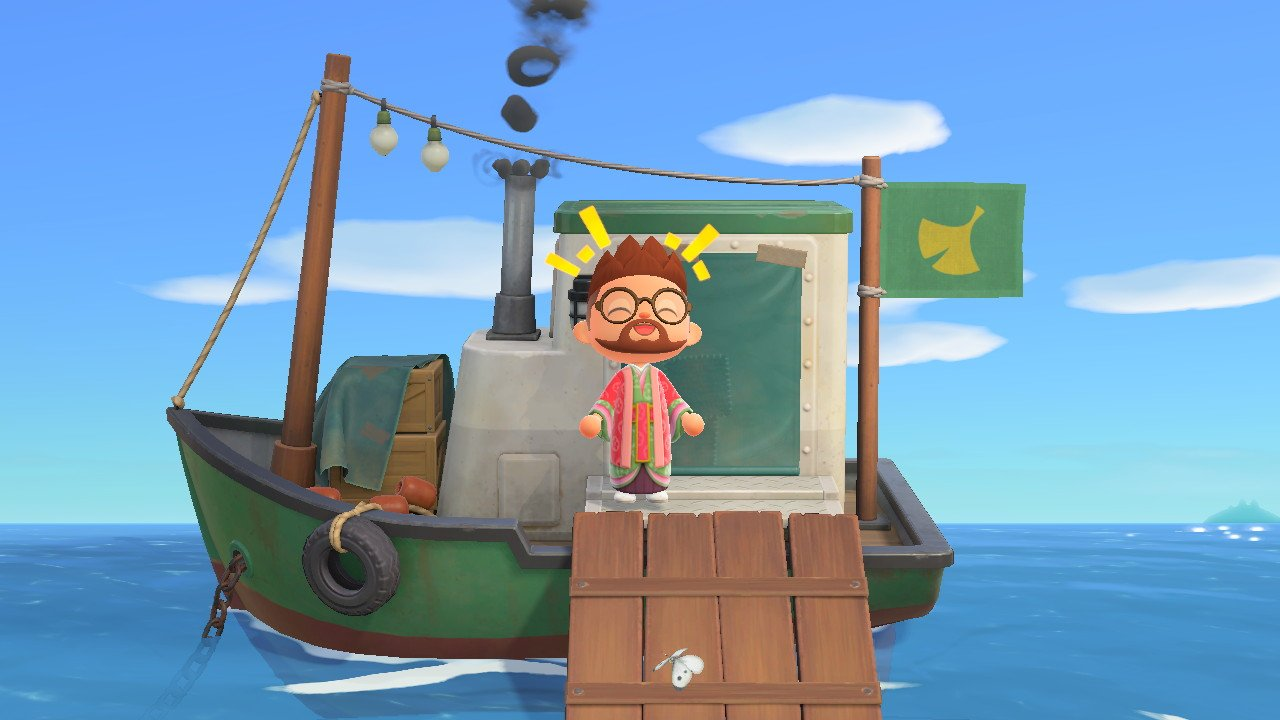 Where to find Redd's Ship Animal Crossing New Horizons