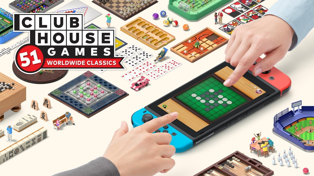 All games in Clubhouse games: 51 worldwide classics