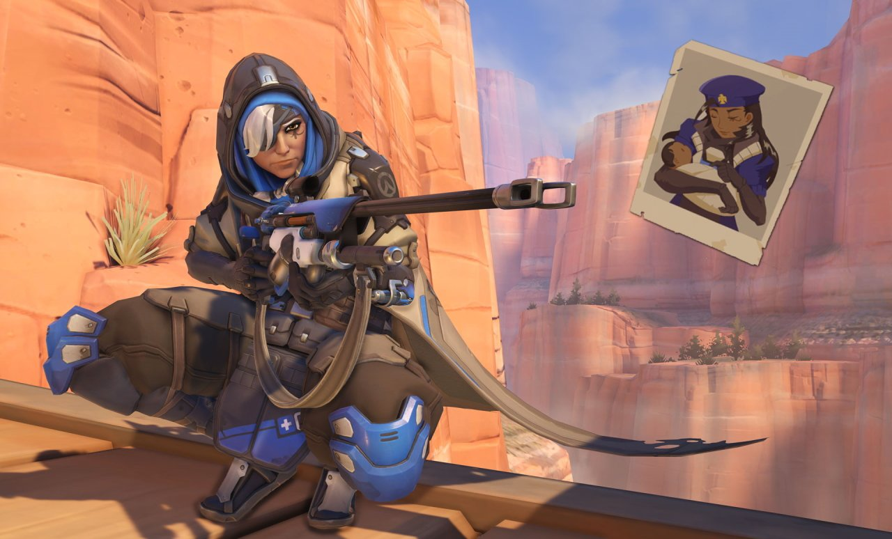 the coolest moms in video games - ana amari