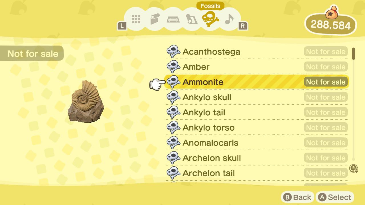 How to view all collected Fossils in Animal Crossing: New Horizons