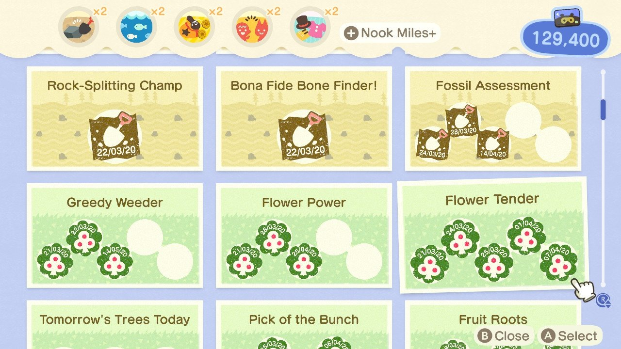 Animal Crossing New Horizons stamp rally nook phone