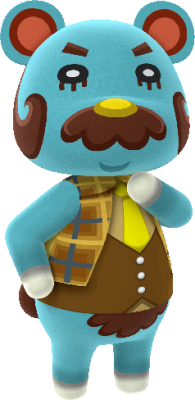 Beardo cutest villagers in Animal Crossing New Horizons