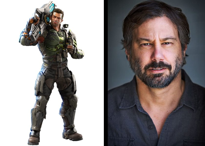 Captain Mendoza is voiced by Scott Levy in Crucible