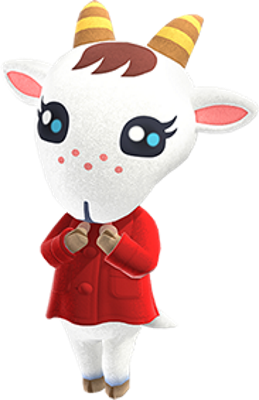Chevre cute villagers animal crossing new horizons
