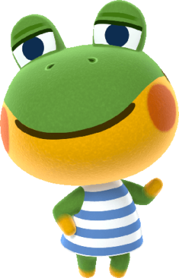 Cutest frog villagers henry