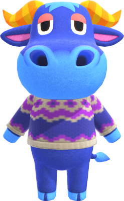 Cutest animal crossing characters stu