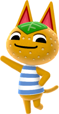 Tangy cutest animal crossing new horizons