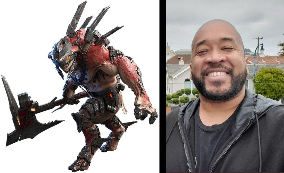 Crucible Drakahl is voiced by Gabe Patillo