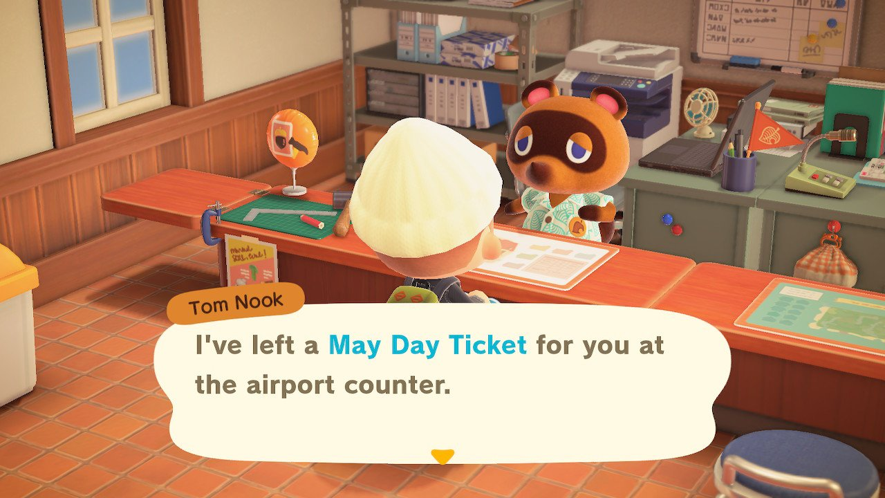 How to take a May Day Tour in animal crossing new horizons