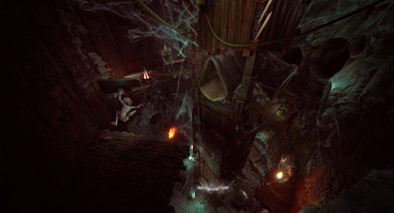 LOTR Gollum game screenshots